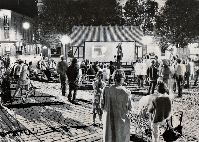 Folkets_Bio_-_Malmö-1989 utomhusvisning